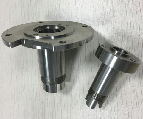 Lathe processing parts